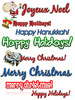 Holiday Clipart Collection MRR