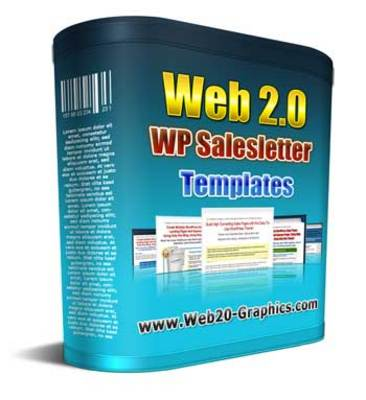 Product picture WordPress Salesletter Templates MRR