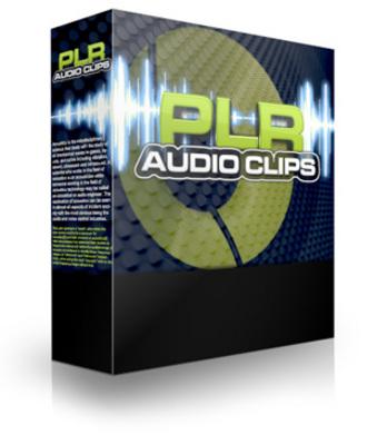 Product picture PLR Audio Clips PLR