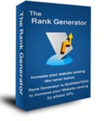 Product picture The Rank Generator  Unrestricted PLR