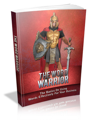 Product picture The Word Warrior  MRR & Giveaway Rights