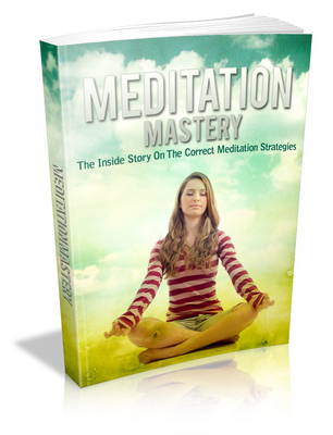 Product picture Meditation Mastery  MRR & Giveaway Rights